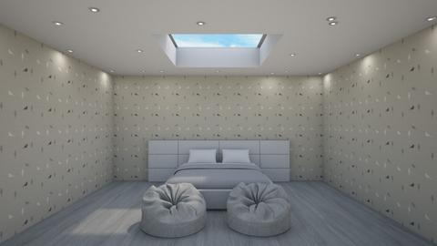 Skylight bedroom - Modern - Bedroom  - by Helen Abram