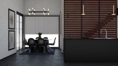 eat - Modern - Living room  - by rcrites457