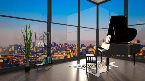 Johannesburg  - Feminine - Living room  - by Cap98