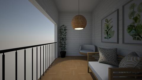 varanda rustica  - Garden  - by alicia vieira