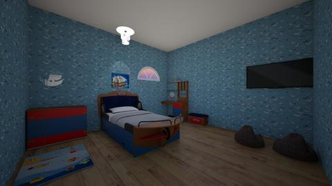 Pirate Room - Masculine - Kids room  - by srmagi
