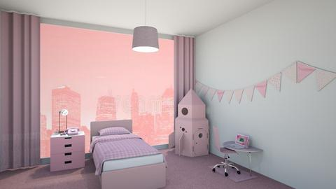 pink  - Bedroom  - by tinylany