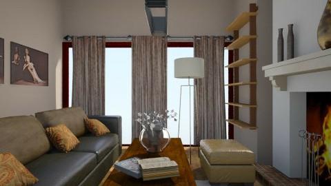 Cosy Liv.room - by ZoeKarachaliou_