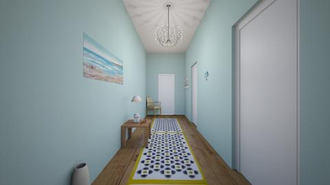 Welcoming Hallway - by camille_thellama