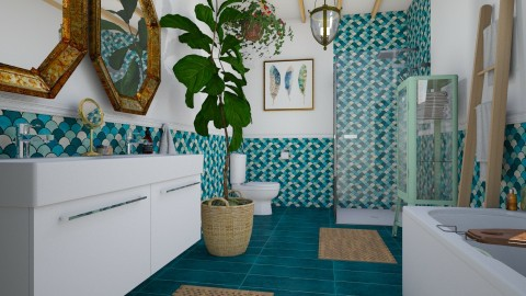 For Conchy_Ensuite bath - Bathroom  - by MandyB84