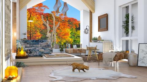 M_ In addition to forest - Living room  - by milyca8