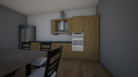 cozinha pequena - Modern - Kitchen  - by Lara Soler Ghelere