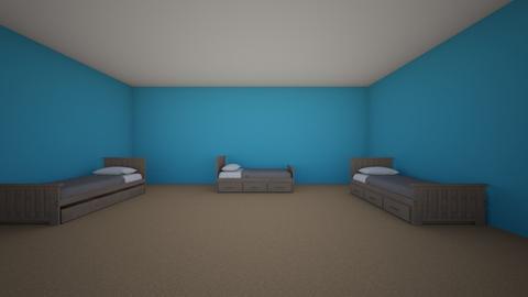 boys - Bedroom - by BrielleN23