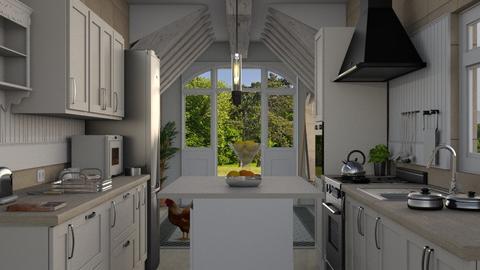 MFK - Kitchen  - by nat mi