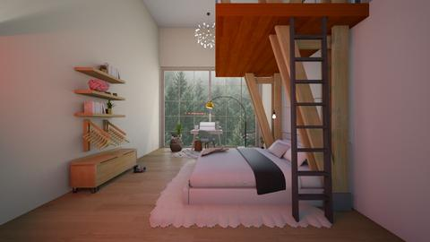 Mountain Top Bedroom - Bedroom - by mydreamjob25