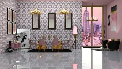 CHANDELIER - Eclectic - Dining room  - by RS Designs