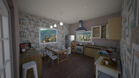 1 kitchen - Classic - Kitchen - by beatrizrauta