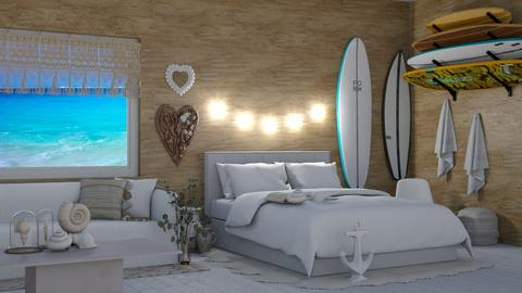 Seashells Seashells  - Bedroom  - by KittyT6