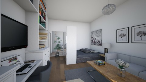 For Kovlo_Rona felso - Eclectic - Living room  - by Theadora