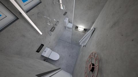 Concept Bathroom 3 - Minimal - Bathroom  - by Iman Veldhuijzen