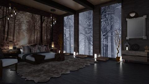 SLEEPING IN THE WOODS - Rustic - Bedroom  - by RS Designs