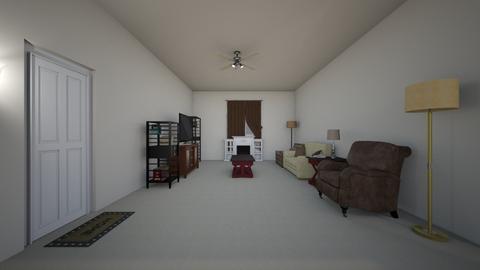 Compact Apartment 02 - Living room  - by WestVirginiaRebel