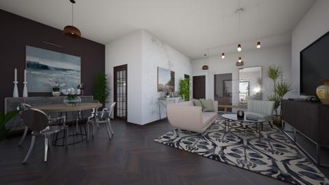 No2 - Modern - Living room  - by Maja06