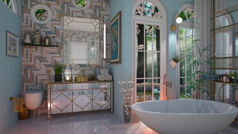 Art Deco - Bathroom  - by Slavicdoll