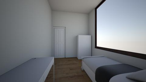 cuarto - Minimal - Bedroom  - by blackson9