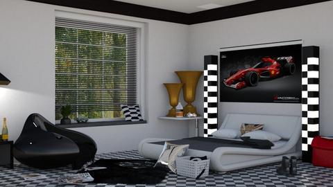 F1 - Bedroom  - by nat mi