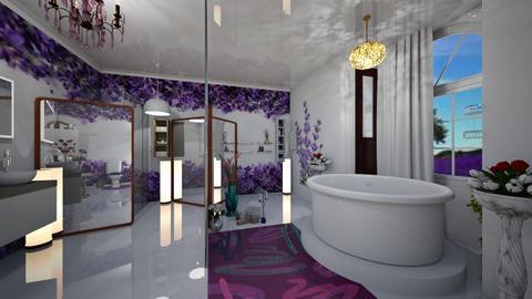 lavender  - Bathroom - by sawee