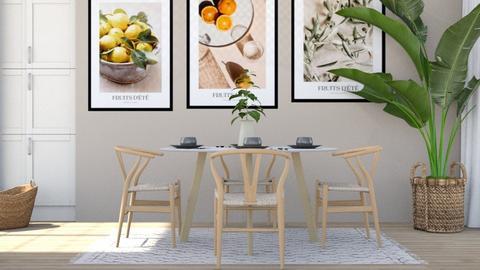 Andori - Dining room  - by Thepanneledroom