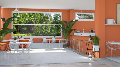 orange restaurant - by irisrmks