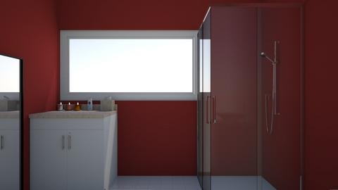 cuarto agaim - Bathroom  - by PaolaRoque