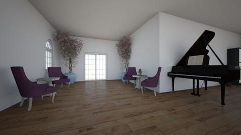 Opdracht 4 Moodboard  - Living room  - by Lisa Schouten