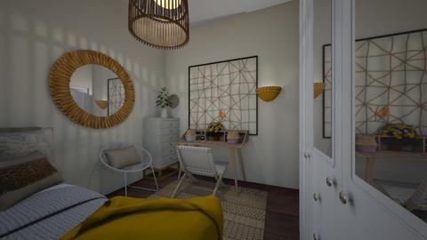 zohar room - Bedroom  - by hagitJacobi