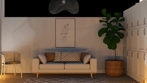 Blurry - Living room  - by Thepanneledroom