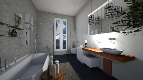ModernBath20 - Bathroom - by Nard8A