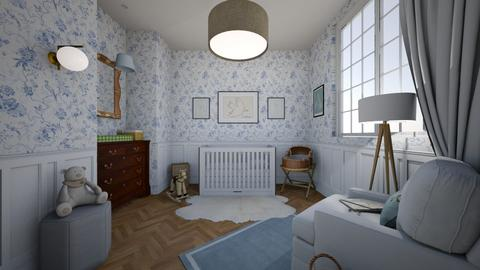 Guest Room - Bedroom  - by virtuestella
