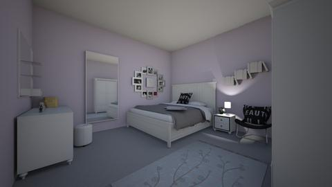 Purple Glamour teen room - Glamour - Bedroom  - by Bangtanstan