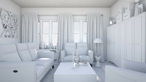 Plain - Minimal - Living room  - by HenkRetro1960