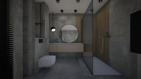 JaszK - Modern - Bathroom - by szaboi