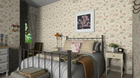 Grandma - Country - Bedroom  - by 532johanna