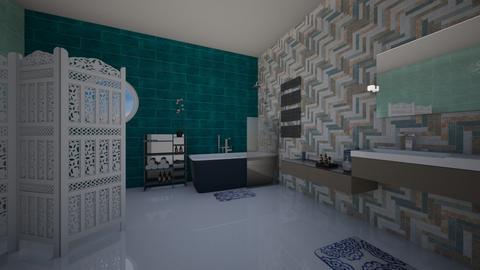 bathroomblue - Bathroom - by Emma_04