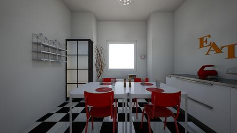 50s style dining  - Vintage - Dining room  - by madisoncummins