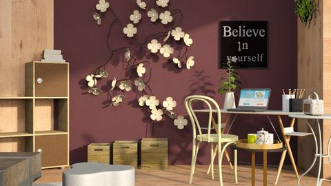 Frangipani_Flower - Office  - by ZuzanaDesign