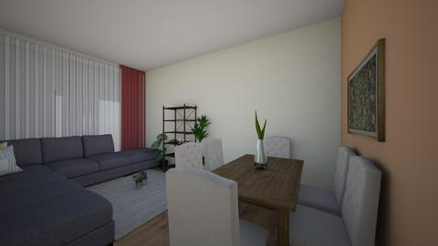 Dilek - Living room  - by Dilek Usta