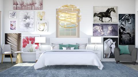 Master Bedroom - by Horse_Lover_Mel