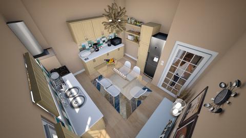family home 51 - Modern - Kitchen  - by Stavroula Chatzina
