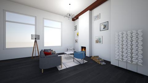 living room_Split - Modern - Living room  - by Bedrica