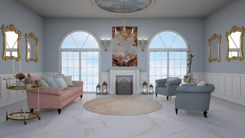 angel aesthetic living - Glamour - Living room - by sara1010