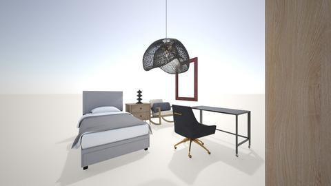 KhayalAli - Modern - Bedroom  - by KhayalAli