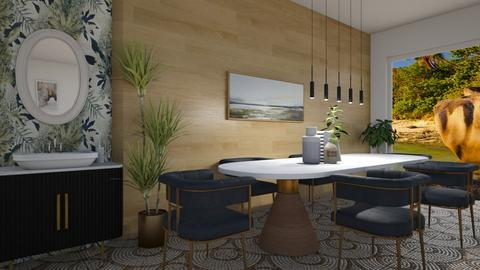 lively dining  - Eclectic - Dining room  - by moomusr