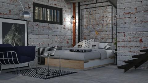 Basement life - Bedroom  - by meggle