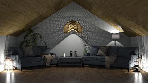 livin grey - Living room  - by GermanFriday